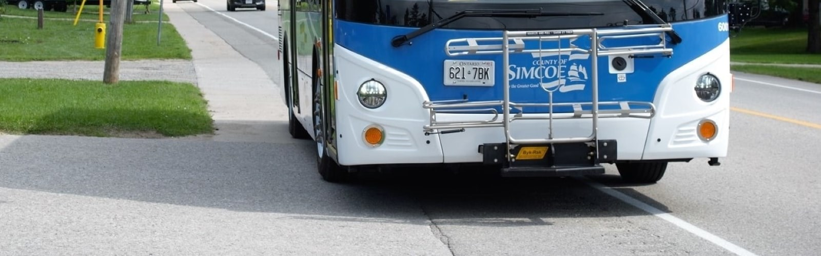 Bus with LINX logo